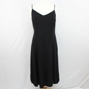 Old Navy Black Spaghetti Strap Dress Size Medium